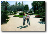 Brian Taylor and Nick Yarymovych in Monaco