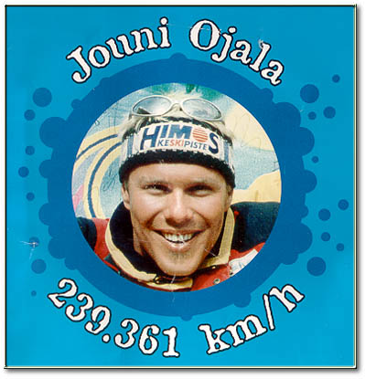 Jouni Ojala - Finnish Pro Speed Ski Team