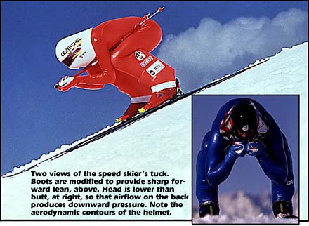 speed ski tuck