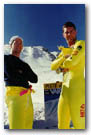 Vars France, Nick and BT 1995